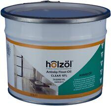 Holzol Anti-Slip Floor Oil 2.5 Ltr, Clear Matt Finish