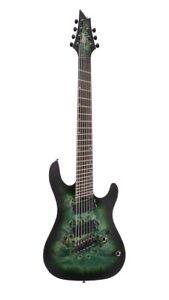 KX Series KX507MS 7-String Multi-Scale Guitar, Star Dust Green, KX507MSSDG-U,NEW