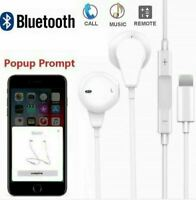 Pop UP Lightening Bluetooth earphones with Mic For iPhone X 11 12 iPad iPod