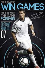 "Cristiano Ronaldo ""Change The Game"" Poster - 600M X 900Mm (#664)"