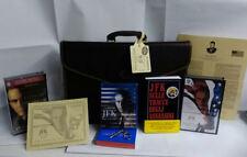 JFK  Borsa 24 ore libro con un vhs italiano+vhs inglese +  BLU RAY NUOVO