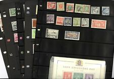 ICELAND, Excellent assortment of Stamps in stock pages