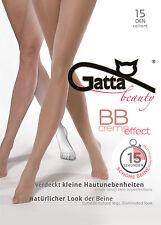 Gatta BB creme effect 15den - Feinstrumpfhose makellose Beine glatten Hautteint