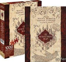 Harry Potter Marauder's Map 1,000pc Puzzle Jigsaw Puzzle - 20 x 27