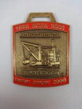 Iwfai 2006 Show Historical Construction Equipment Ass. Member Metal Watch Fob
