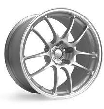 18x8/9 Enkei PF01 5x114.3 +50/45 Silver Rims Fits Honda S2000