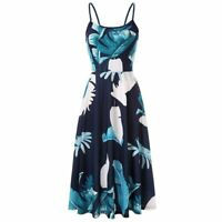 Dress beach long Womens sundress evening party cocktail maxi casual boho summer