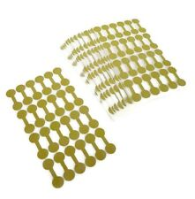 2000 Gold Price Sticker Tags, Jewelry Round Dumbell Barbell labels Free Ship