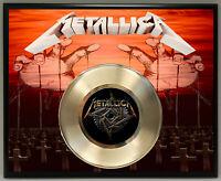 Metallica Poster Art Record Music Memorabilia Display Plaque Free Shipping 5