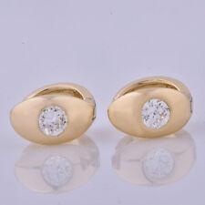 statement antique fashion womens earings huggie Gold Plated hoop earrings lot