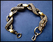MENS/UNISEX BRONZE DRAGON BRACELET