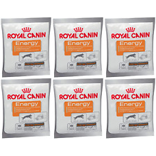 6 x Royal Canin High Energy & Activity Booster Dog Training Reward, Snack - 50g