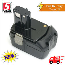 18V 4.0Ah EBM1830 Lithium-ion Battery for HITACHI BCL1815 WH18DL Drill Driver