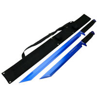 """26"""" / 18"""" Stainless Steel Blue Blade Sword with Sheath"""