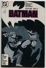 Batman 407 DC 1987 FN Year One Frank Miller 1st Print
