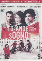 2 Dvd **IL GRANDE SOGNO** con Riccardo Scamarcio Luca Argentero nuovo 2009