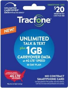BYOP 3-1 Tracfone sim card included Air time Pin 30 days
