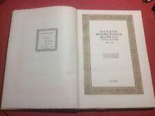 LIVRE ANCIEN ET RARE Banque Marmorosch Blank & Co, Société Anonyme 1848-1923