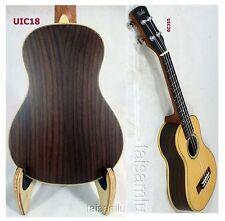 Alulu Solid Spruce and Solid Indian Rosewood Concert Ukulele Hard Case UIC18-24
