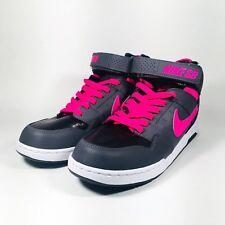 Nike SB Morgan Mid 2 JR B Shoes Pink Blast/Dark Gray 645025 060 Youth Size 6.5