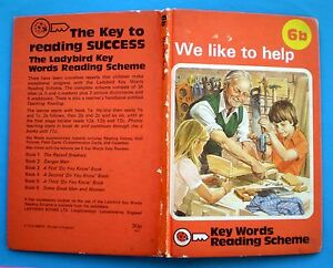 We Like To Help vintage Ladybird book 6b Key Words Reading Scheme learning