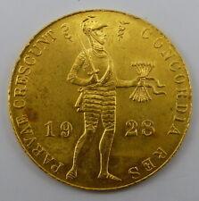 NIEDERLANDE - 1 Dukat Gold - 1928 (343)