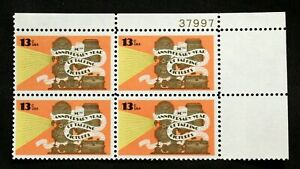 US Plate Blocks Stamps #1727 ~ 1977 50 YEAR TALKING PICTURES 13c Plate Block MNH