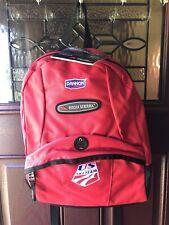 New W Tags U.S. Ski Team High Sierra Backpack BookBag Red Bag Dannon