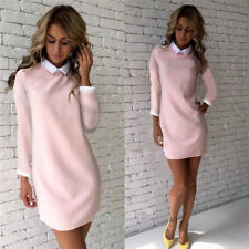 Women Bandage Bodycon Long Sleeve Short Mini Dress Party Cocktail Casual Dress