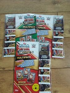 Topps Slam Attax Universe 3 x multipacke 2019 Relic Cards , UNOPENED,