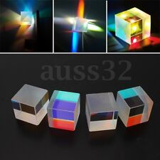 4x Optical Cristal X-Cube Prism RGB Combiner Splitter Teaching Decoration Art
