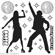 Groovy 70's Disco Party Scene Setter Add-On Props Decoration - Boogie Dancers