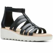 Clarks Jillian Nina Womens Flatform Gladiator Sandals