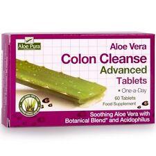 Aloe Vera Colon Cleanse Advanced - 60 Tablets - Optima Health Aloe Pura