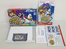 Sonic Pinball Party MINT Condition Game Boy Advance Nintendo Japan Game gba