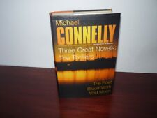 Michael Connelly The Poet, Blood Work, Void Moon Hardcover