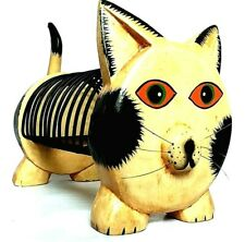 beige//tortora Fermalibri a forma di gatto colore