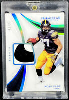 Noah Fant 2019 Panini Immaculate #/36 Rookie Nike Gloves Swoosh Patch RC