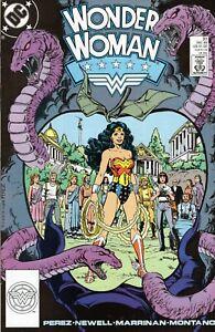 WONDER WOMAN #37 GEORGE PEREZ! DC COMICS 1989! GLOSSY