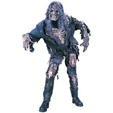Mens Deluxe Complete Zombie Undead Halloween Fancy Dress Costume