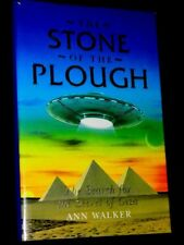 ANN WALKER The Stone of the Plough 1997 US 1st/First hb dw ufo aliens conspiracy