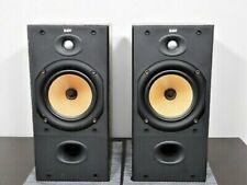 B&W DM602 S2 Bowers and Wilkins Speakers Audiophile England made Black