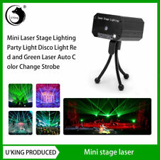 Laser Projector Stage Light Mini Led R&G Lighting Xmas Party Dj Disco Ktv Show