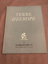 [14128-M27] Art Revue - Terre d'Europe Pierre Paulus - Montparnasse 19 - 1957