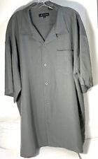 Montique Mens 3XL Grey Short Sleeve Work Shirt