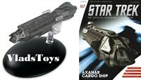 Star Trek 22nd century, Axanar Cargo Vessel Eaglemoss Issue 167 w/magazine