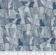 Quilting Treasures Tres Chic TONAL MOSAIC Slate 100% cotton fabric by the yard