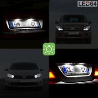 4 ampoules à LED blanc veilleuses + feux de plaque pour Volkswagen Golf 4 5 Eos