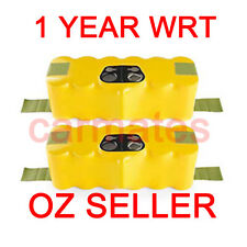 2 Battery For iRobot Roomba 500 14.4V 3.0Ah Ni-MH 535 560 570 580 vacuum cleaner