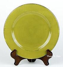 "8-3/4"" Salad Plate, NEAR MINT! Toscana Palm, Pier 1 Imports, Green, Italy"